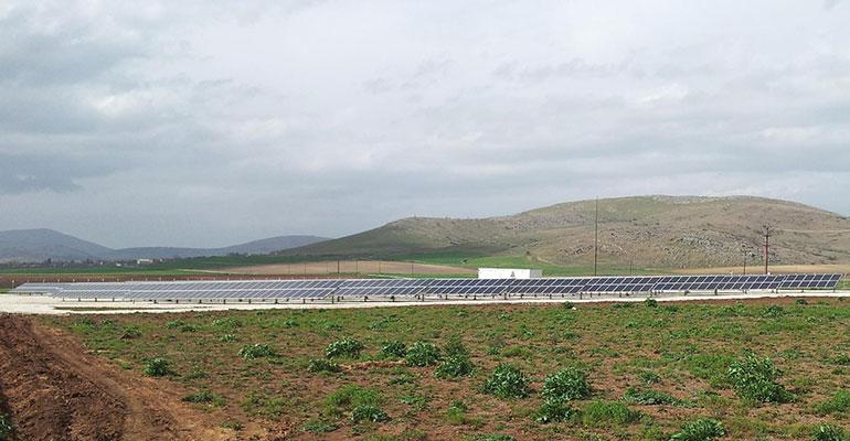 Instalación fotovoltaica en Thessalia, Grecia