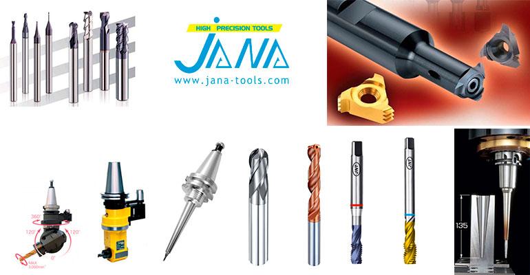 Escaparate de productos de Jana-Tools