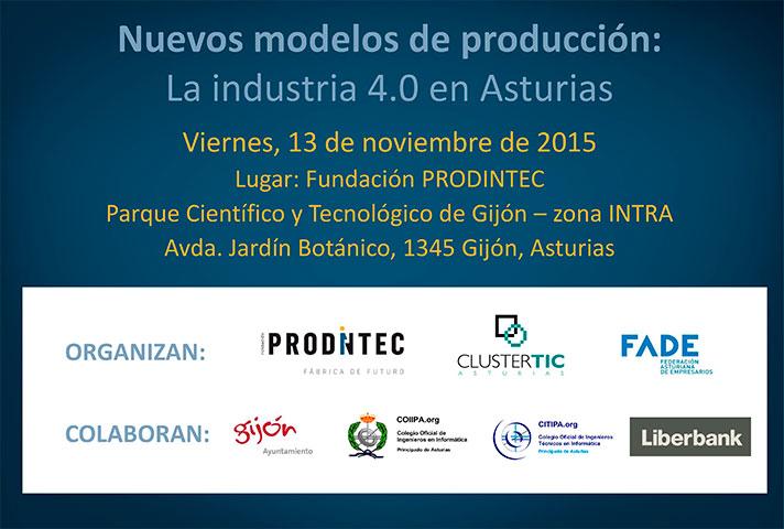 Nuevos modelos de producción: la industria 4.0 en Asturias
