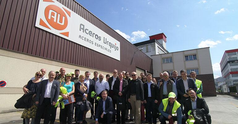 Reunión Toolox en Aceros Urquijo