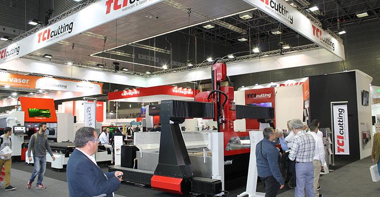 Stand de TCI Cutting en BIEMH 2018