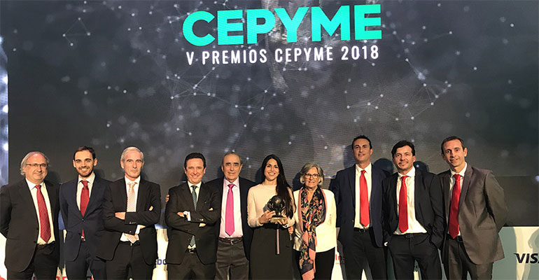 ASTI Mobile Robotics recibe el Premio Pyme del Año 2018