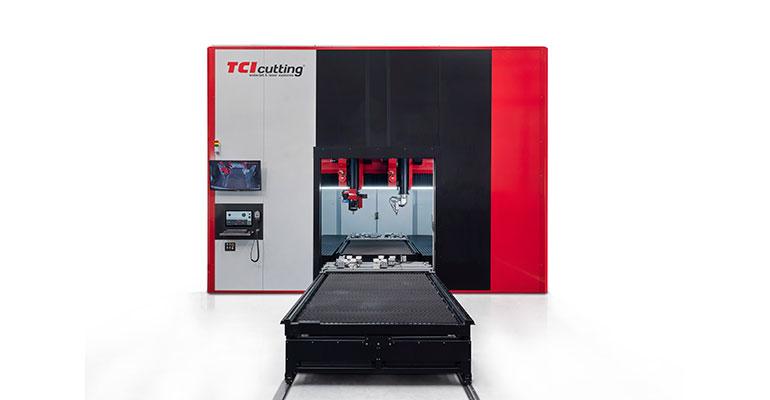 TCI Cutting lanza al mercado una máquina de corte 3D polivalente para corte láser y fresado de última generación