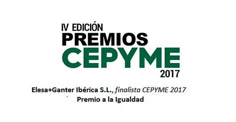 Elesa+Ganter Ibérica, Premios CEPYME 2017