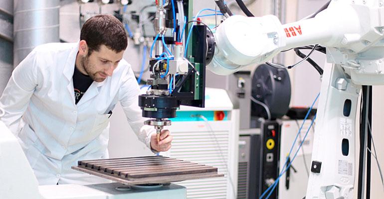 Fabricación aditiva por hilo, una apuesta para la industria aeronáutica y la energía