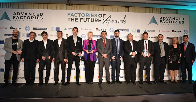 Factories of the Future Awards 2018