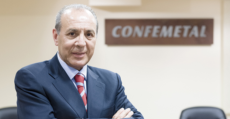 José Miguel Guerrero, presidente de Confemetal