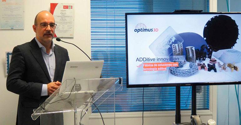 Fernando Oharriz, CEO de Optimus 3D