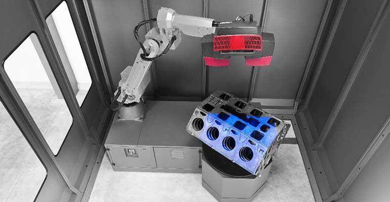Crece el uso de la fotogrametría robótica para la medición en la producción automatizada