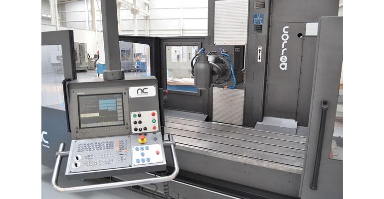 Nicolás Correa Service instala la fresadora Correa Prisma 25 en Eslovaquia