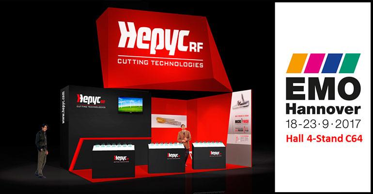 Hepyc expondrá en EMO Hannover