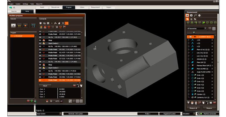 Programación del plan de medición en M3MH