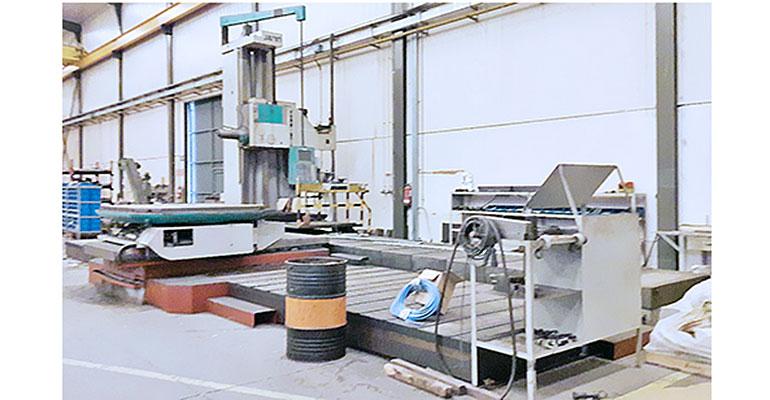 Mandrinadora de columna móvil Juaristi MDR-130-CM