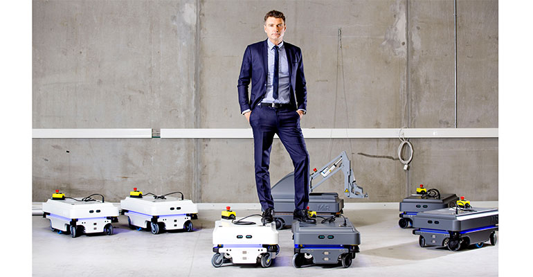 Thomas Visti, CEO de Mobile Industrial Robots