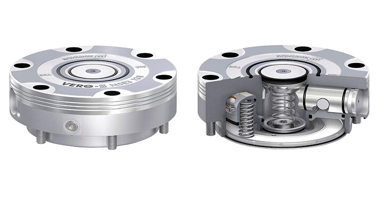 el módulo de cambio rápido de palés Vero-S NSE3 138 y el módulo Vero-S NSE-T3 138 para torretas.
