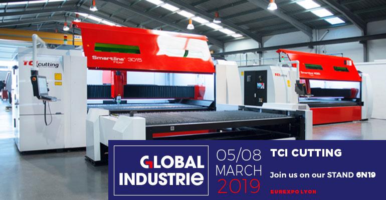 TCI Cutting participa en Global Industrie 2019