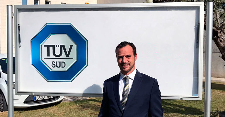Jordi Campos, Business Manager de Process Safety en TÜV SÜD España y Portugal