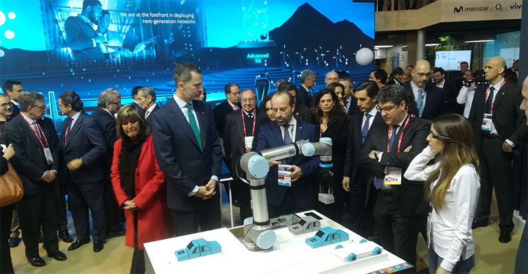 Universal Robots participa en el Mobile World Congress 2018