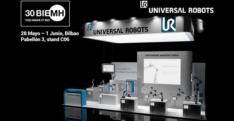 Stand de Universal Robots en BIEMH 2018