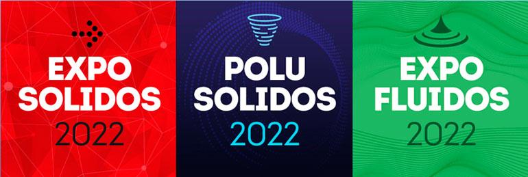 Exposólidos 2022, Polusólidos 2022 y Expofluidos 2022 tiene un 45% más de empresas que en la edición del 2019