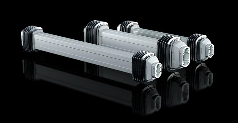 Mayor flexibilidad en el funcionamiento de la máquina: brazos soporte con un alcance aún mayor