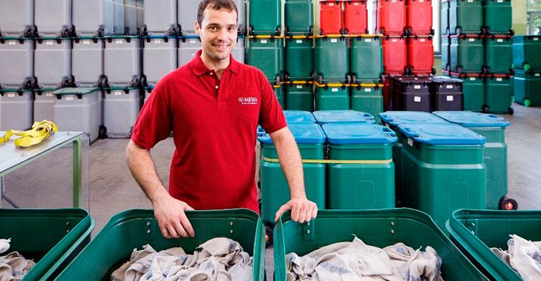 Los paños de limpieza reutilizables optimizan la limpieza en industrias y talleres
