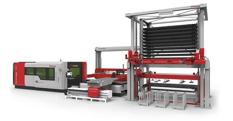 TCI Cutting incrementa la productividad de sus clientes con soluciones de automatización a medida de alta gama