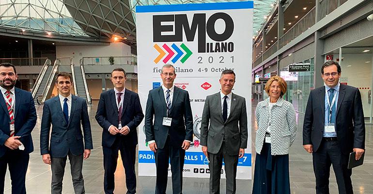 EMO Milán, principal feria mundial de tecnologías avanzadas de fabricación, abre sus puertas