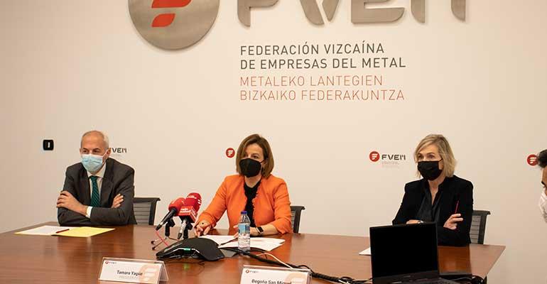 La industria del metal en Vizcaya frena su recuperación