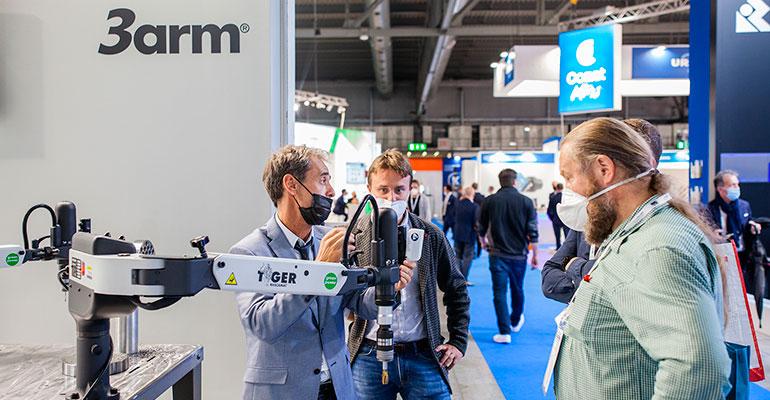 Gran éxito de EMO Milán 2021, con más de 60.000 visitantes