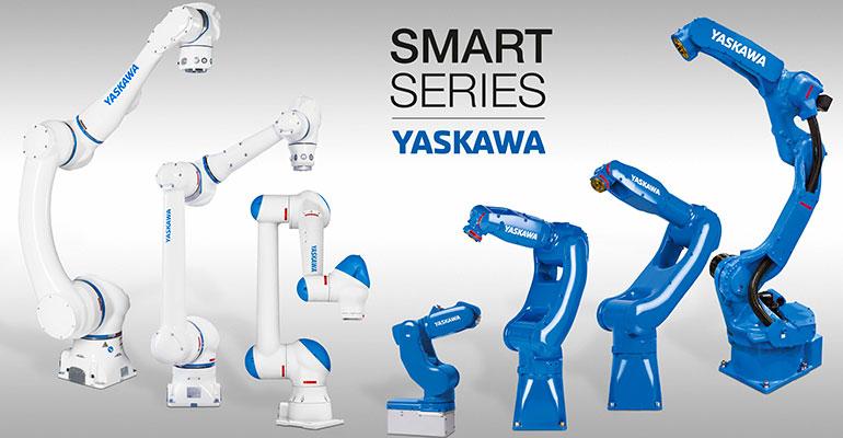 Smart Series, robots Motoman y herramientas de agarre como sistema plug & play