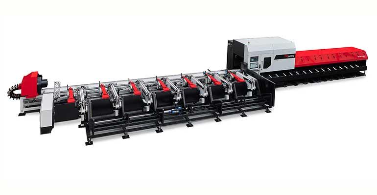Automatiza tu corte de tubos y perfiles con la máquina Smarttube Fiber de TCI Cutting