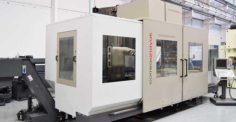 Fresadora CNC Bancada Fija Anayak VH Plus 3000 5X MG-8