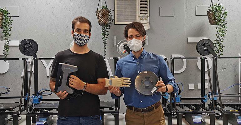 Sicnova une fuerzas con la ONG Ayúdame3D para la producción de prótesis mediante fabricación aditiva