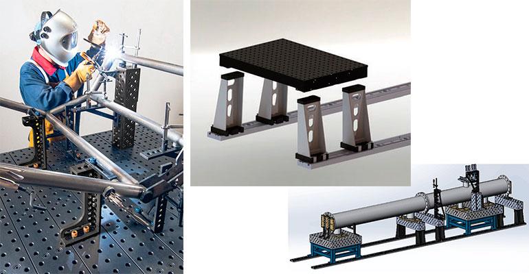 BuildPro, mesa de soldadura modular para trabajos pesados