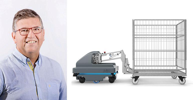 Un Robot Móvil Autónomo y un Vehículo Guiado Tradicional. ¿Cuál es la diferencia para la industria?
