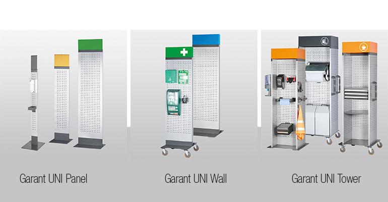 Nuevo sistema modular de mobiliario industrial Garant UNI Line