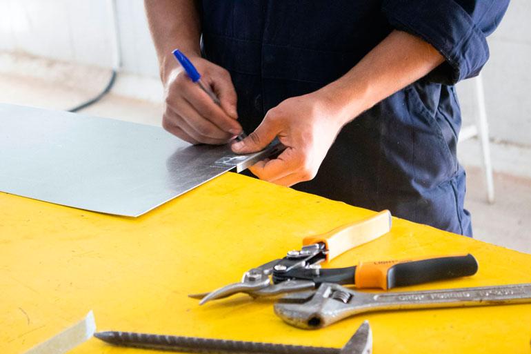Tips a la hora de guardar o almacenar las herramientas de plegado