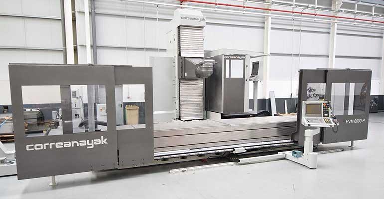 Fresadora CNC Columna Móvil Anayak HVM 6000 P