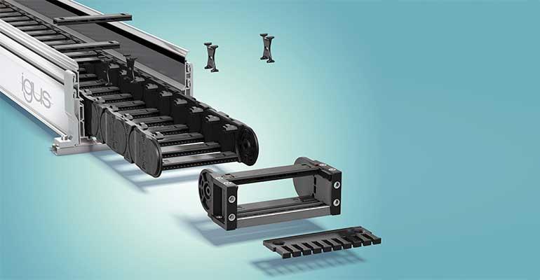 Añada un kit de cadena portacables Igus al carrito de compra con un solo clic y recíbalo en 3 días