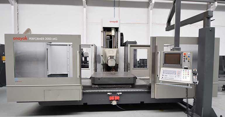 Fresadora CNC Bancada Fija Anayak Performer 2000 MG-8