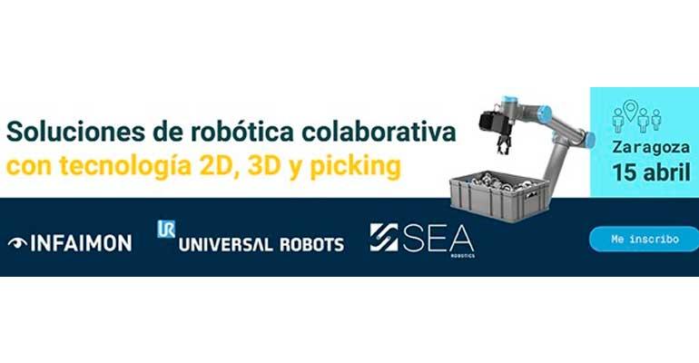 SEA organiza una jornada de robótica colaborativa con Universal Robots e Infaimon