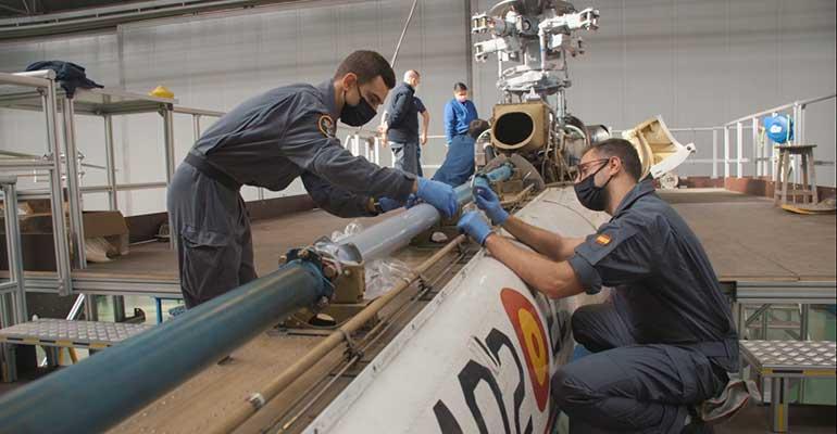 El Ejército del Aire actualiza el mantenimiento de su flota aérea mediante el uso de tecnología 3D
