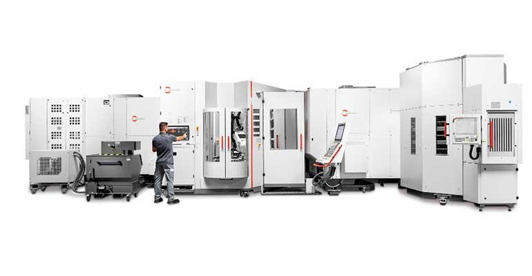 Sistema de robotizado RS 1 para la manipulación completamente automatizada de palets y piezas