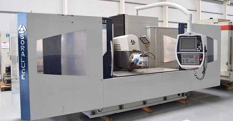 Fresadora CNC Bancada Fija Soraluce TA-20