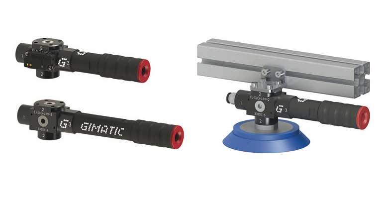 Gimatic presenta sus generadores de vacío EJ-SYS & EJ-SLG para aplicaciones descentralizadas
