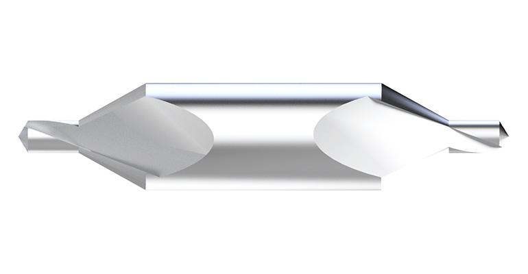 Brocas de centrar en metal duro de Hepyc