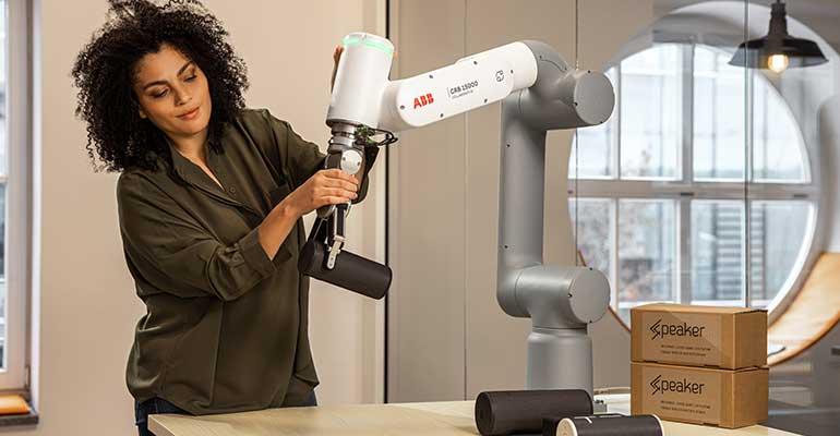 ABB lanza la nueva generación de cobots para impulsar la automatización en nuevos sectores
