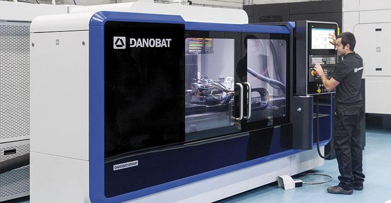 Gama de rectificadoras de exteriores LG de Danobat