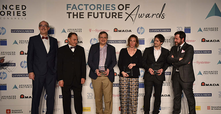 Advanced Factories abre las candidaturas para los Factories of the Future Awards